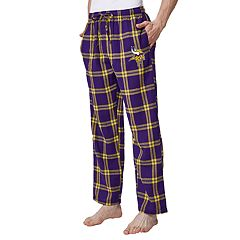Men's Minnesota Vikings Home Stretch Flannel Pajama Pants