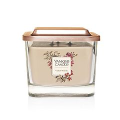 Yankee Candle Elevation Collection Velvet Woods Medium Square Candle