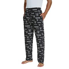 Men's Oakland Raiders Midfield Pajama Pants