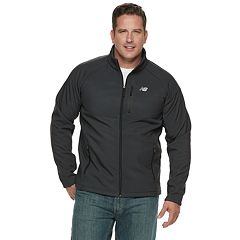 Men's New Balance Sherpa-Lined Hooded Softshell Jacket