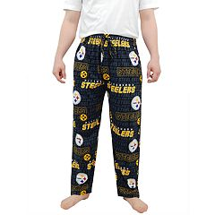 Men's Pittsburgh Steelers Midfield Pajama Pants