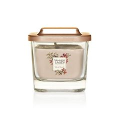 Yankee Candle Elevation Collection Velvet Woods Small Square Candle