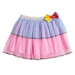 Girls 4-14 Jacques Moret JoJo Siwa Layered Dance Skirt
