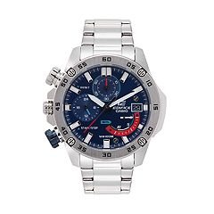 Casio Men's EDIFICE Stainless Steel Chronograph Watch - EFR558D-2AV