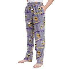 Men's Minnesota Vikings Achieve Fleece Pajama Pants