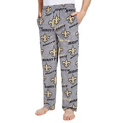 Men's New Orleans Saints Achieve Fleece Pajama Pants