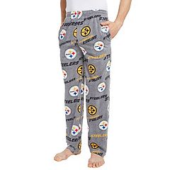 Men s Pittsburgh Steelers Achieve Fleece Pajama Pants 2d7a4b36a