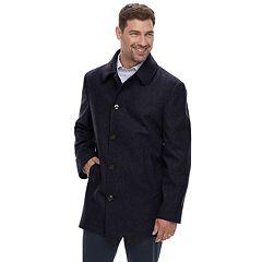 Men's Chaps Classic-Fit Wool-Blend Peacoat