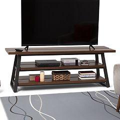 Simpli Home Adler Low TV Stand