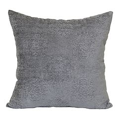 Camelot Chenille Medallion Throw Pillow