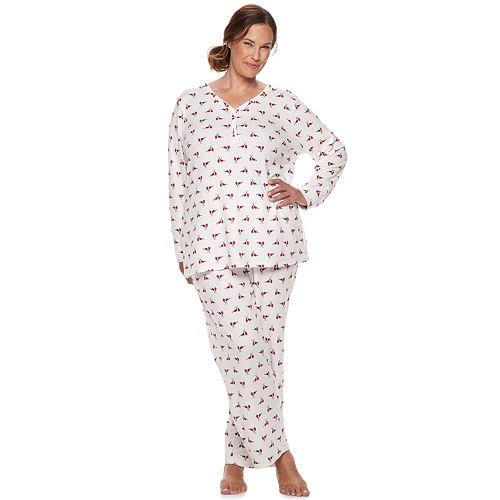 7034d421aed6b Plus Size Croft & Barrow® Sleep Tee & Pants Pajama Set