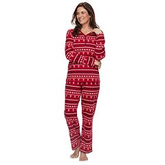Petite Croft & Barrow® Sleep Top & Pants Pajama Set