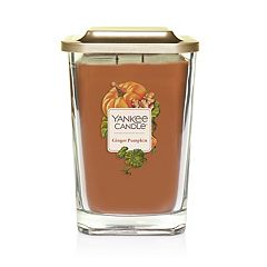 Yankee Candle Elevation Collection Ginger Pumpkin Large Square Candle