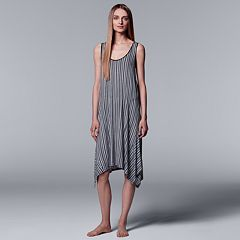 Women's Simply Vera Vera Wang Striped Chemise
