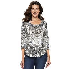 Women's World Unity Embellished High-Low Tee