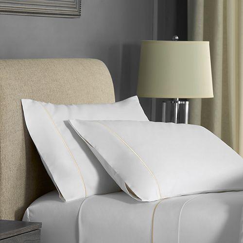 FlatIron Hotel Satin Stitch Sheet Set