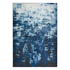 Rizzy Home Encore Contemporary Abstract I Solid Rug
