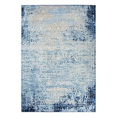 Rizzy Home Encore Traditional Overdyed Solid Rug