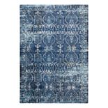Rizzy Home Panache Transitional Scrollwork Trellis Rug