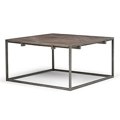 Simpli Home Avery Square Coffee Table