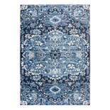 Rizzy Home Panache Transitional Central Medallion I Geometric Rug