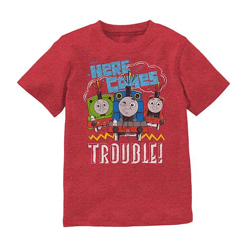 Baby Boy Jumping Beans® Thomas the Train Here Comes Trouble Tee