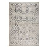 Rizzy Home Panache Transitional Medallion Floral Rug