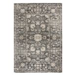 Rizzy Home Panache Transitional Distressed Floral Rug