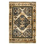 Rizzy Home Xceed Transitional Central Medallion Geometric Rug