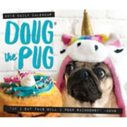 Doug The Pug 2019 Desk Calendar