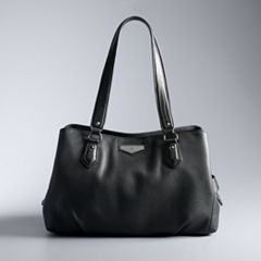 Simply Vera Vera Wang Priya Triple Compartment Satchel