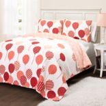 Lush Decor Flying Balloon Quilt Set