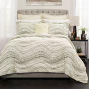 Lush Decor Pixel Wave Line Comforter Set