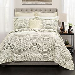 Lush Decor Pixel Wave Line Comforter Set