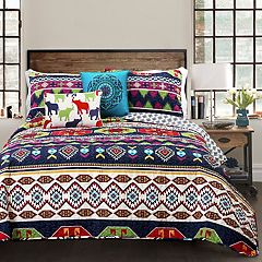 Lush Decor Sanora Quilt Set