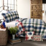 Lush Decor Ace Checker Quilt Set