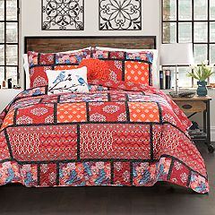 Lush Decor Meridian Quilt Set