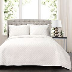 Lush Decor Ava Diamond Oversized Cotton Quilt Set