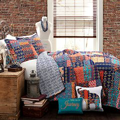 Lush Decor Misha Quilt Set