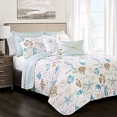 Lush Decor Harbor Life Quilt Set