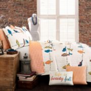 Lush Decor Rowley Birds Quilt Set