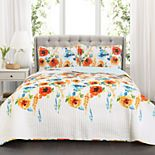 Lush Decor Percy Bloom Quilt Set