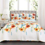 Lush Decor Percy Bloom Quilt Set