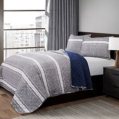 Lush Decor Marlton Stripe Quilt Set