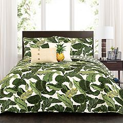 Lush Decor Tropical Paradise Quilt Set