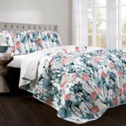 Lush Decor Zuri Flora Quilt Set