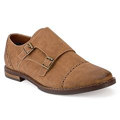 Xray Kraftig Men's Monk Strap Dress Shoes