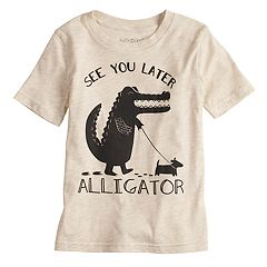 Boys 4-10 Jumping Beans® 'See You Later Alligator' Graphic Tee