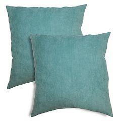 Alexander Textured Chevron Faux-Suede Throw Pillow 2-pack