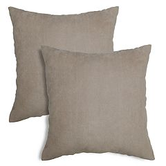 Alexander Textured Chevron Faux-Suede Throw Pillow 2-pack